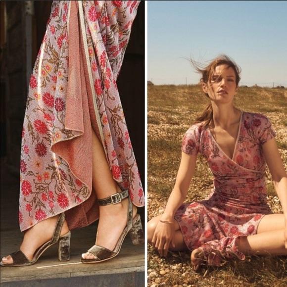 Anthropologie Dresses & Skirts - 🍁Anthro Posy Metallic Maxi Dress Cecilia Prado💓